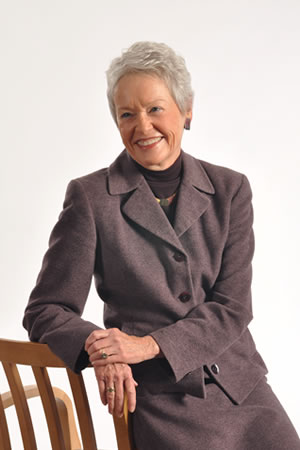 Photo of Sharon Iversen, member of Hospice Board of Directors and Legacy Society.